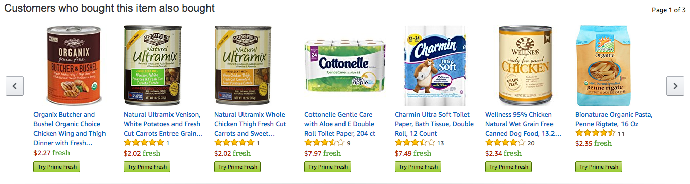 amazon AI product recommendations