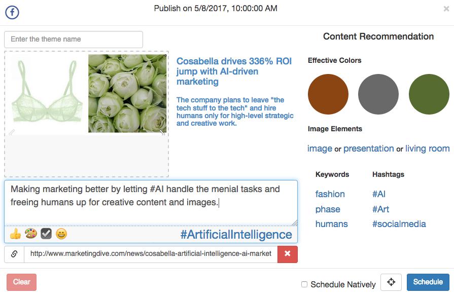 Cortex Smart Content recommendations