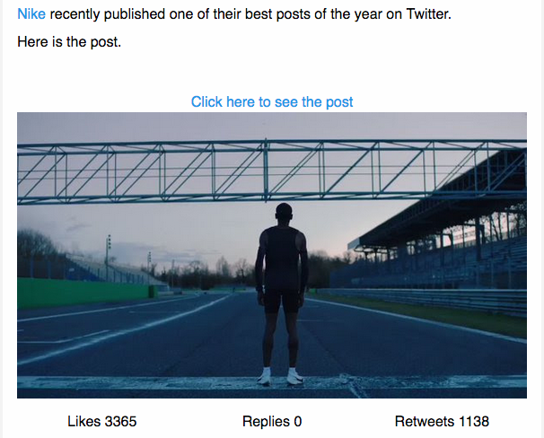 Introducing Social Media Competitor Alerts