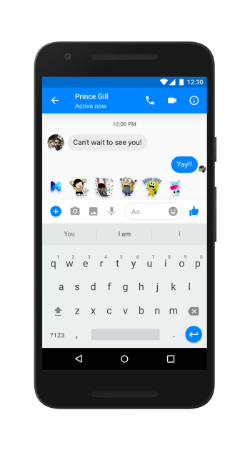 Facebook Messenger is Using AI to Suggest AI Features